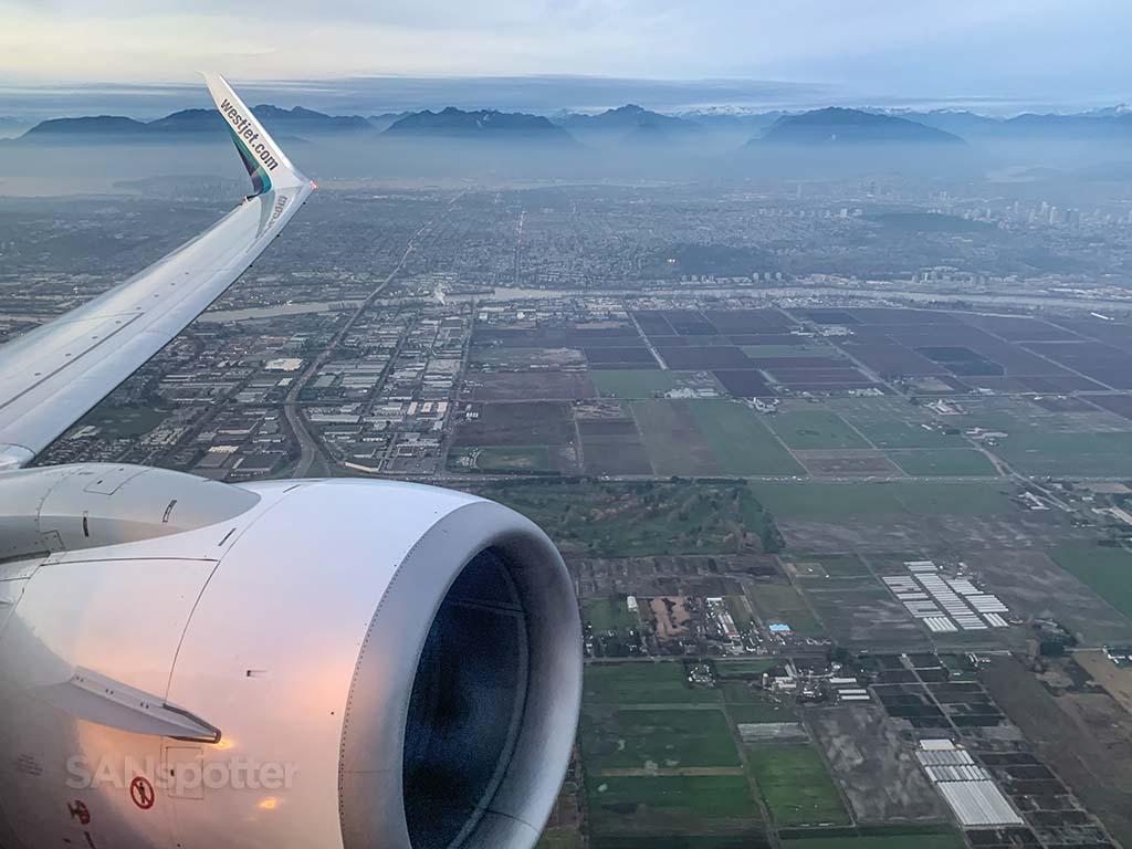 westjet 737 takeoff