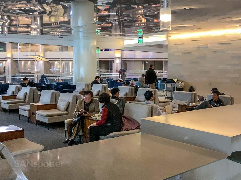 KAL lounge LAX interior