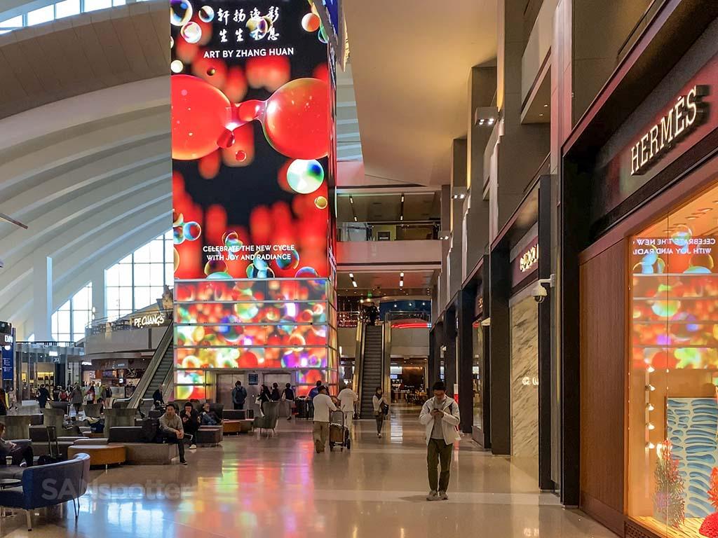LAX international terminal interior