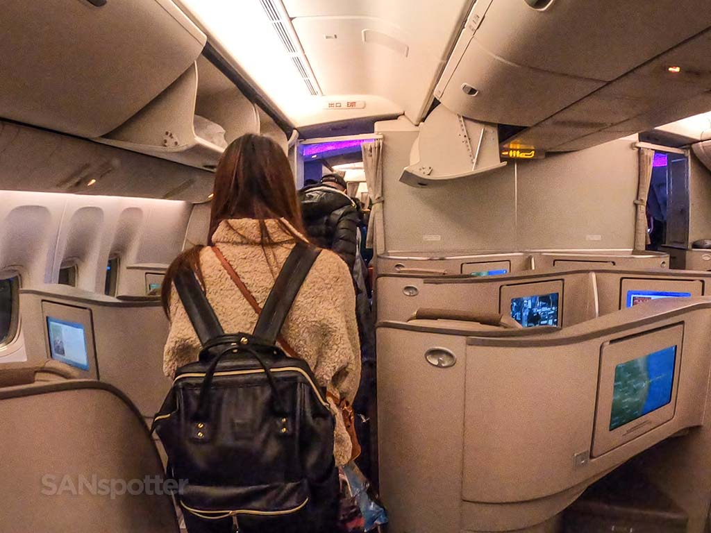 China eastern business class full experience