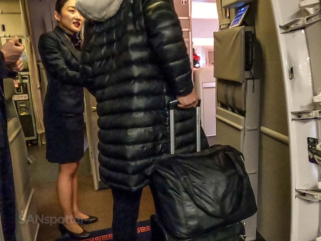 china eastern flight attendant