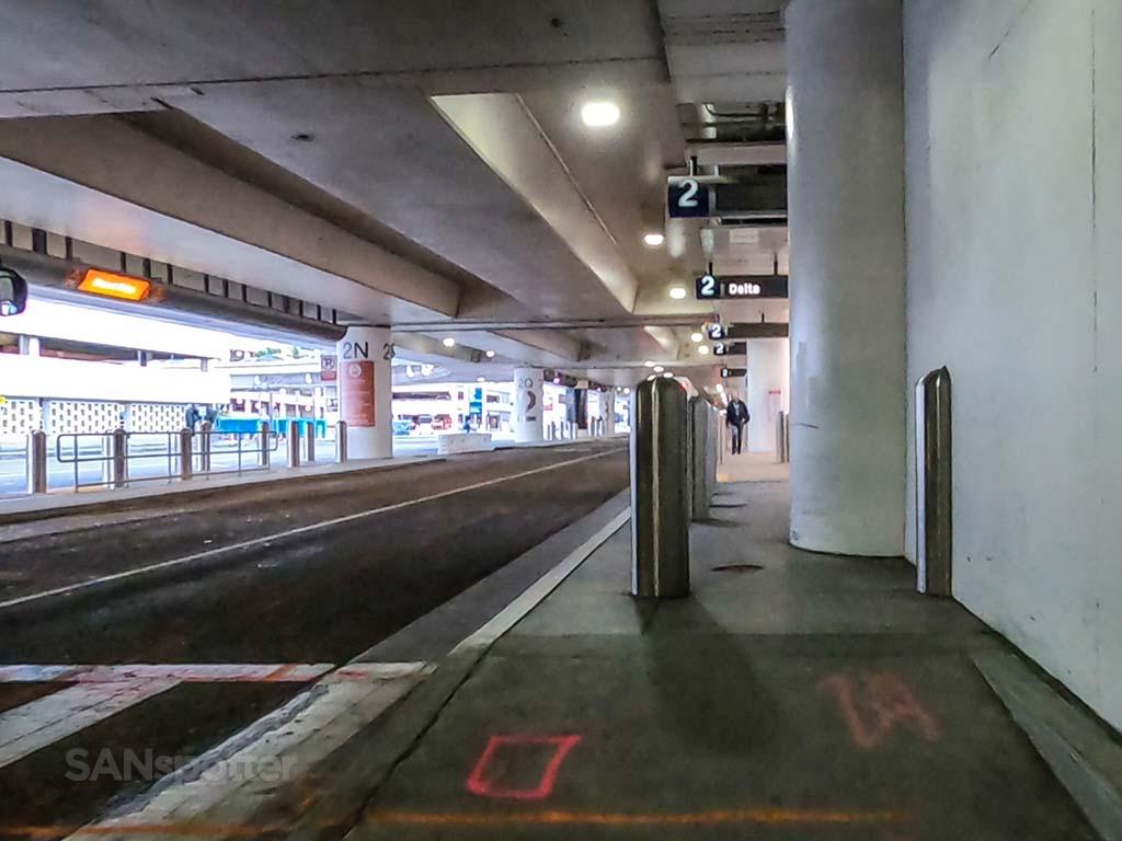 LAX arrivals level