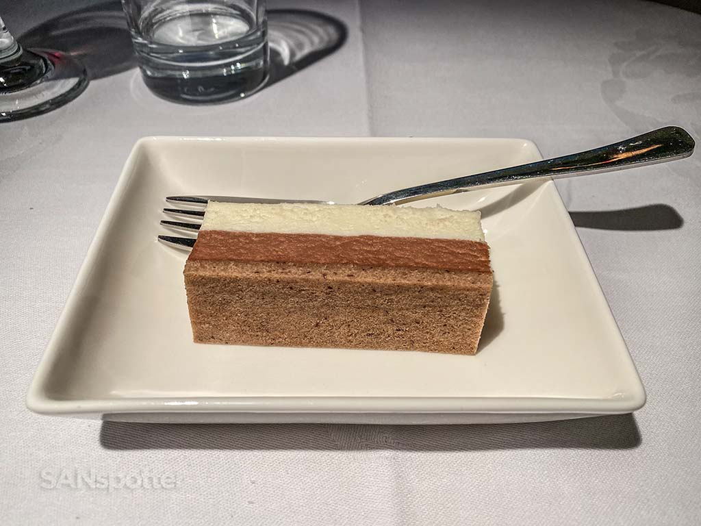 china eastern dessert business class