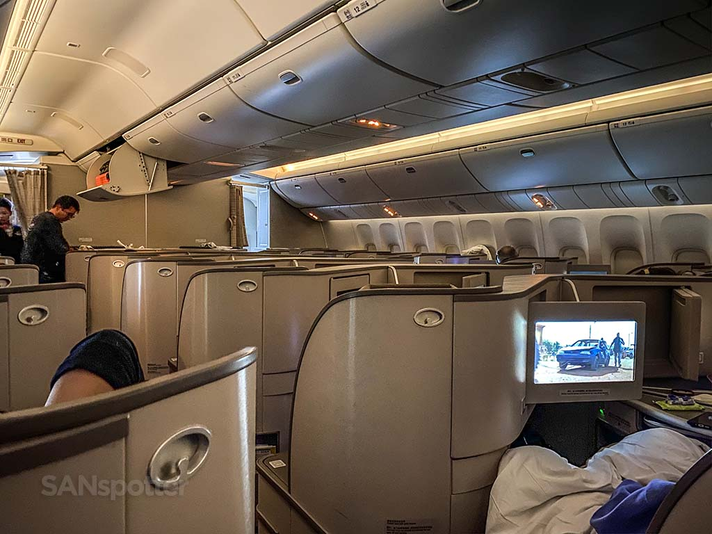 china eastern business class experience