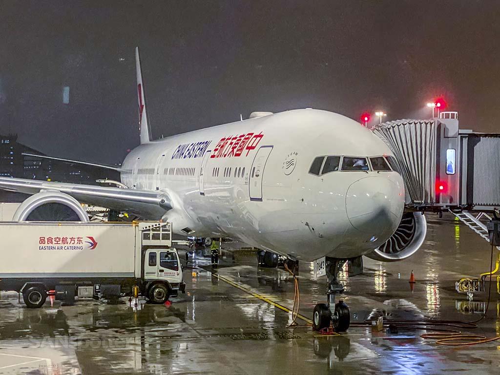 China eastern 777-300ER PVG