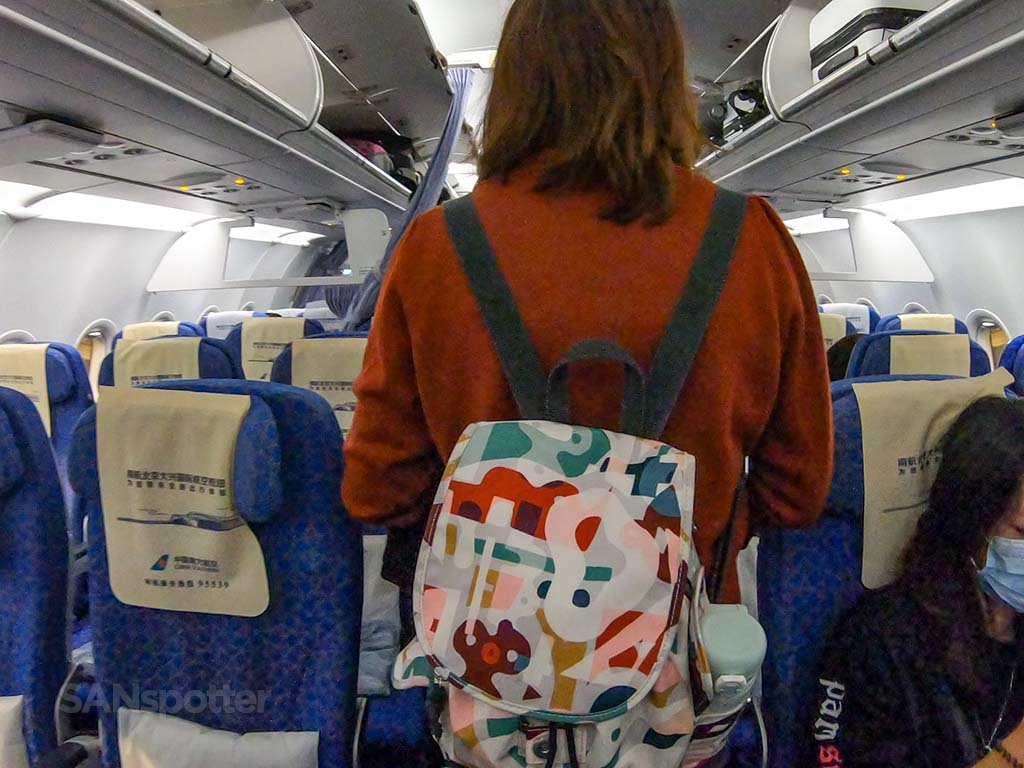China southern airlines a321 first class