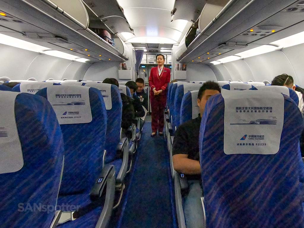 china southern airlines flight attendant