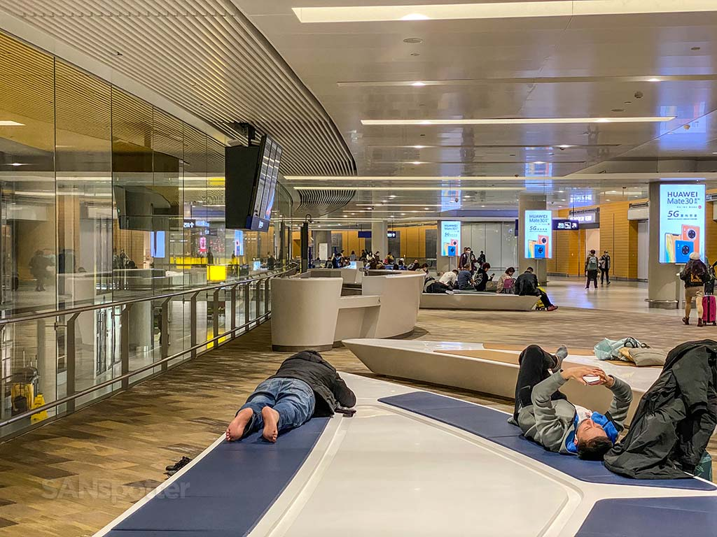 Shanghai airport satellite terminal
