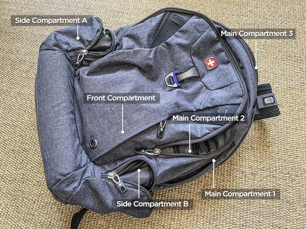 swiss gear carry on backpack