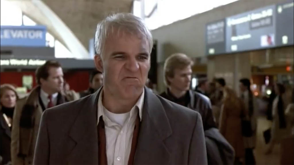 Planes trains and automobiles quotes car rental scene