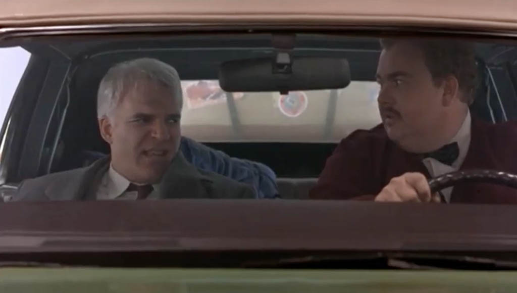Planes trains and automobiles Neil Page and Del Griffith
