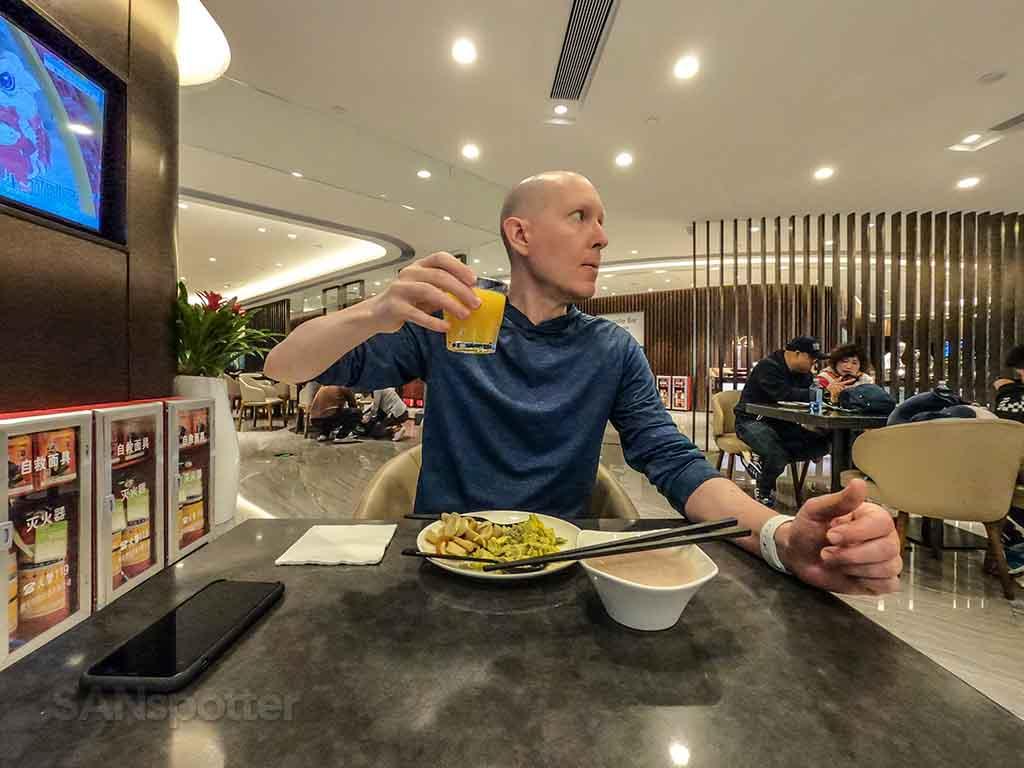 SANspotter selfie plaza premium lounge Guangzhou