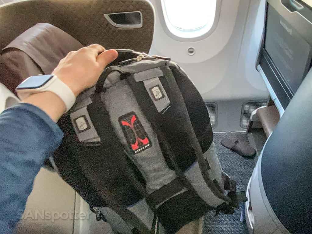 SANspotter carry on bag