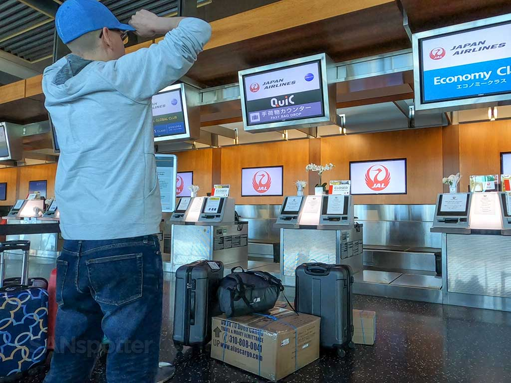 JAL Economy sanspotter