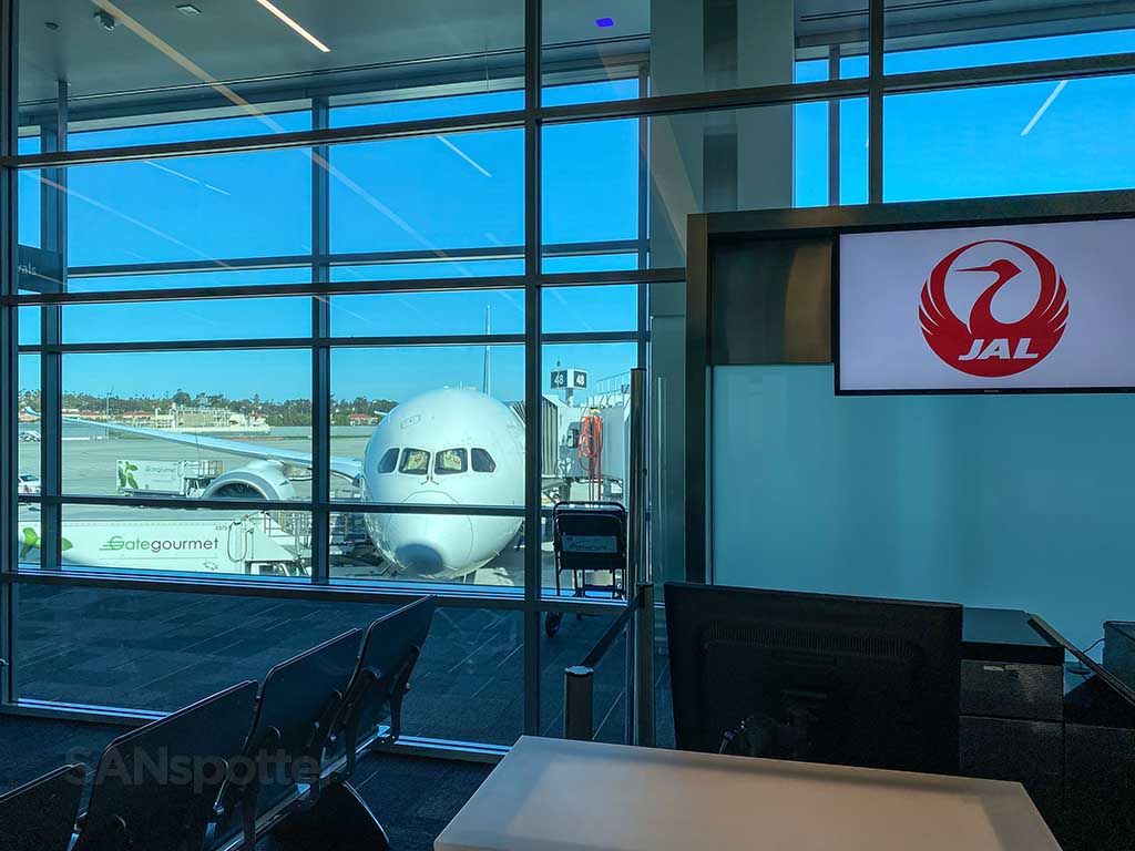 JAL San Diego airport