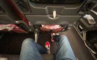 JAL 787 economy seat leg room
