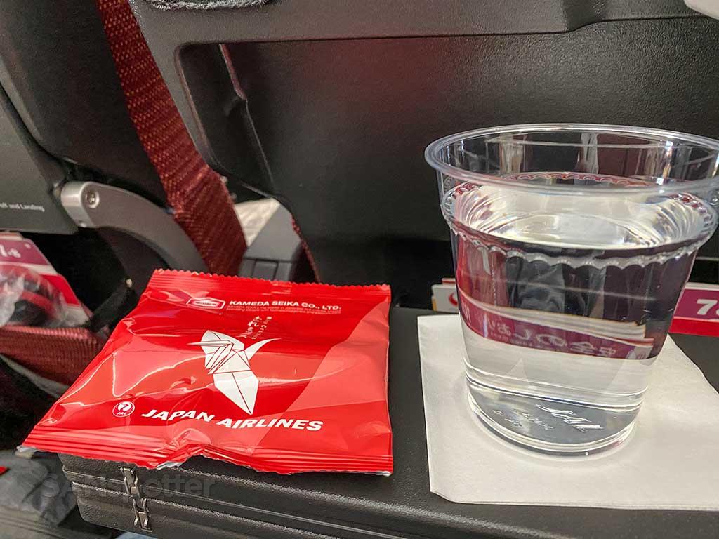 JAL Economy snack