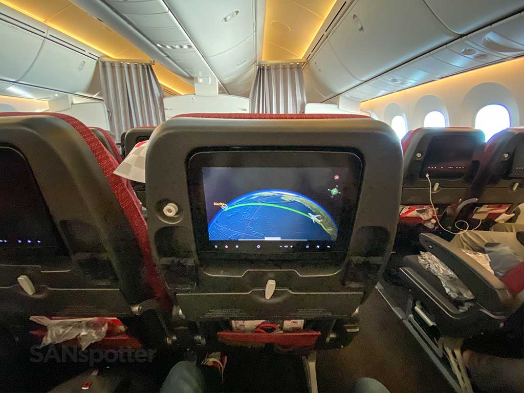 JAL 787 economy review