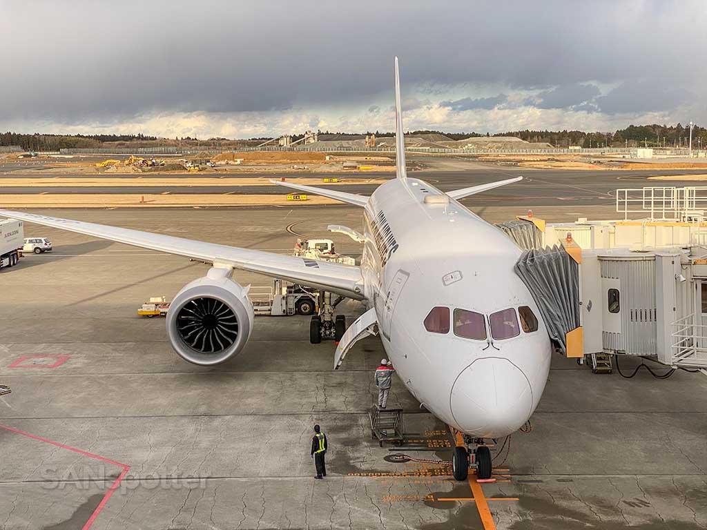 JAL 787 JA838J