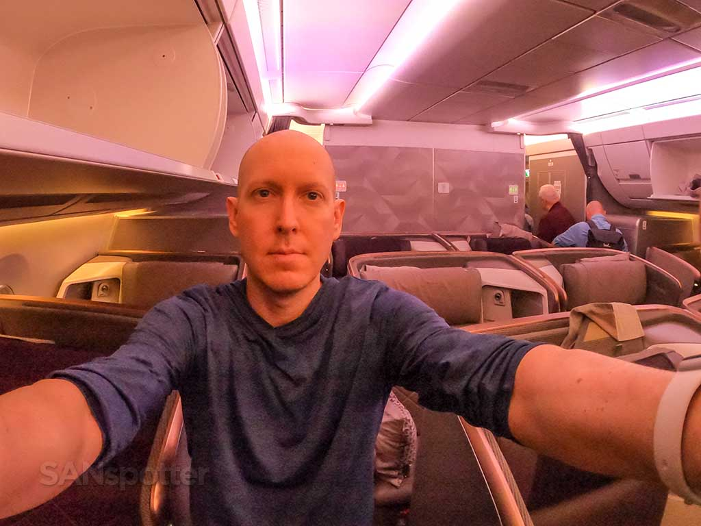 SANspotter Singapore Airlines A350 Business Class honest review
