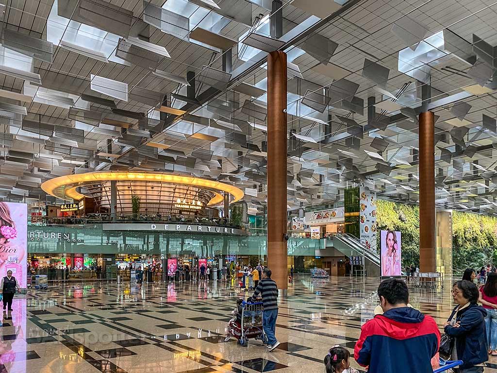 Changi Airport terminal 3 departures