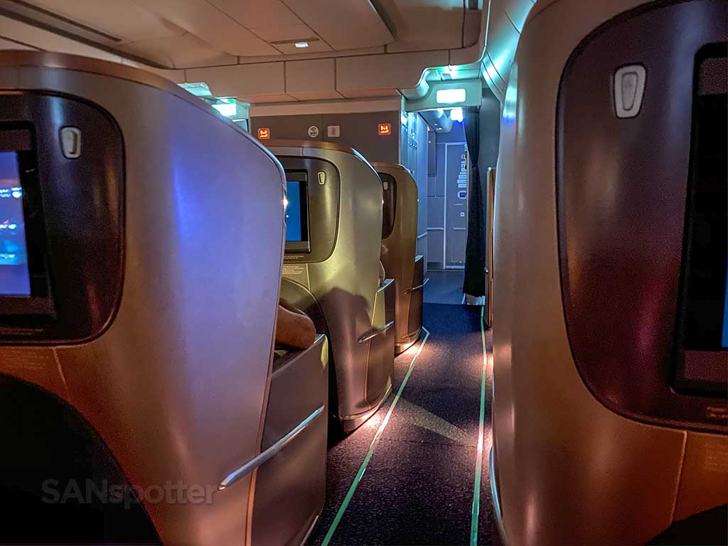 Singapore Airlines A350 Business Class experience