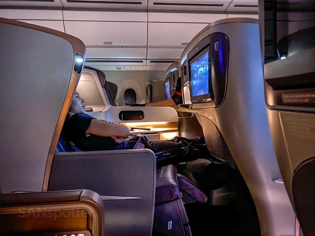 Singapore Airlines A350 Business Class full review