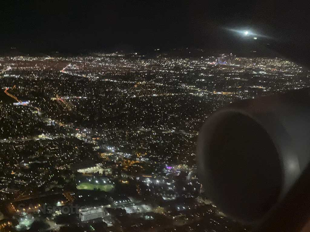 LAX missed approach