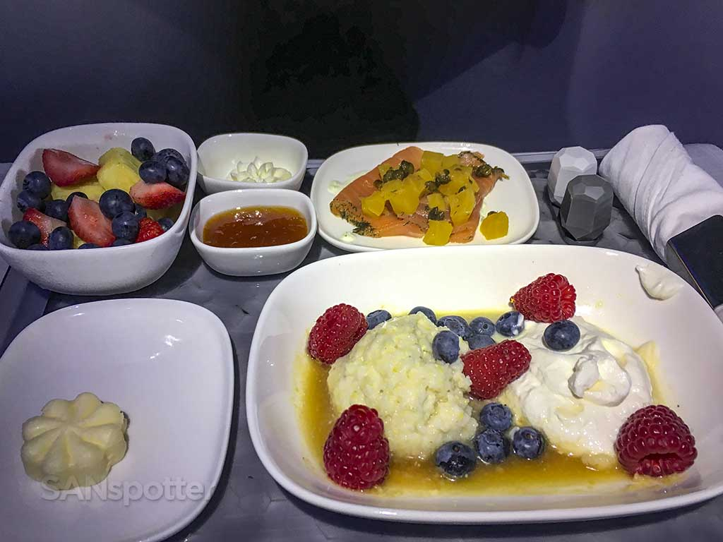 Delta One food