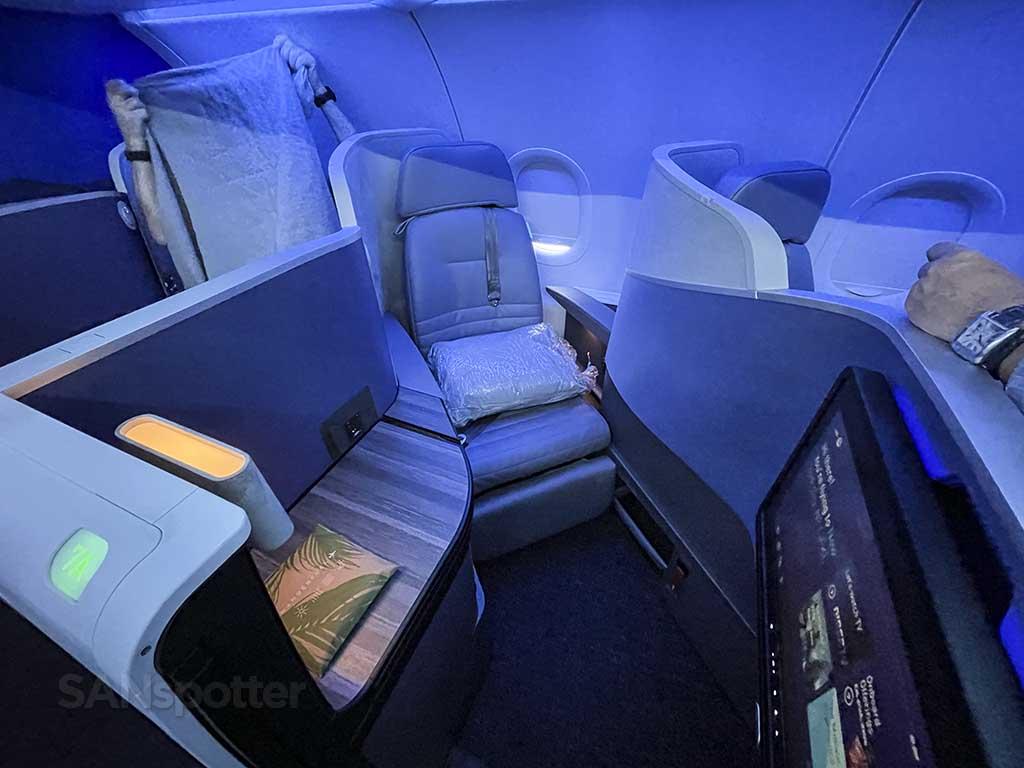 JetBlue Mint Suite seat 7A