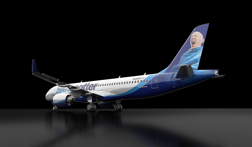 airbus a220 sanspotter livery