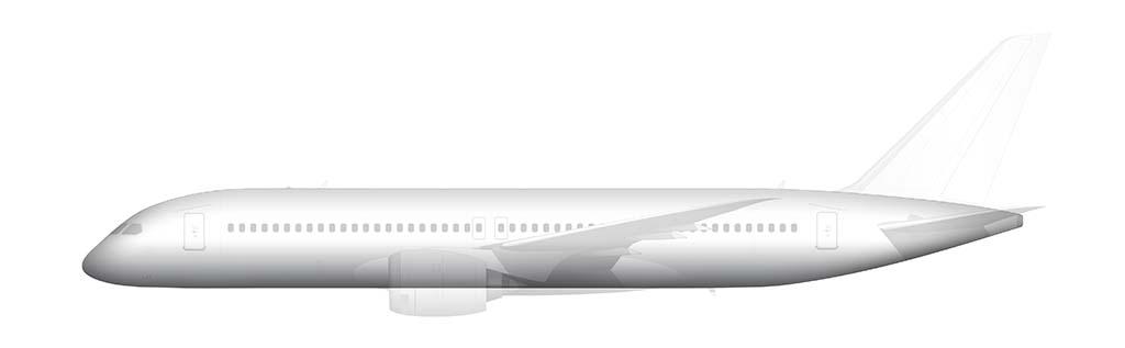 Boeing 797 fuselage
