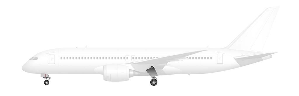 Boeing 797 landing gear