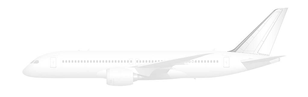 Boeing 797 vertical stabilizer
