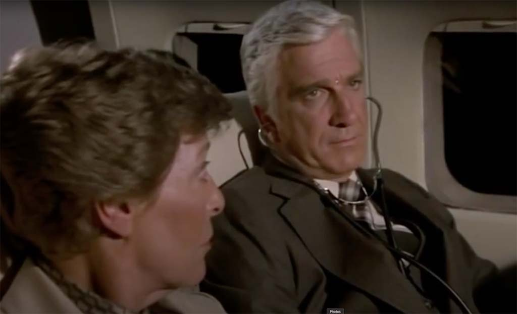 airplane movie are you a doctor quote