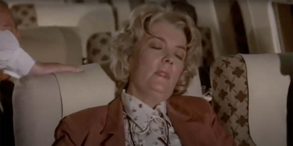 Airplane Ronald Reagan film quote