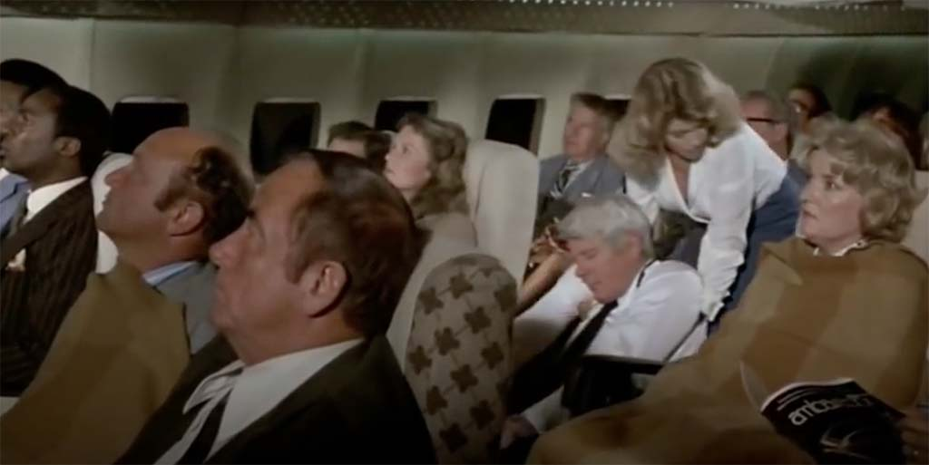 Airplane there is no reason to become alarmed movie quote