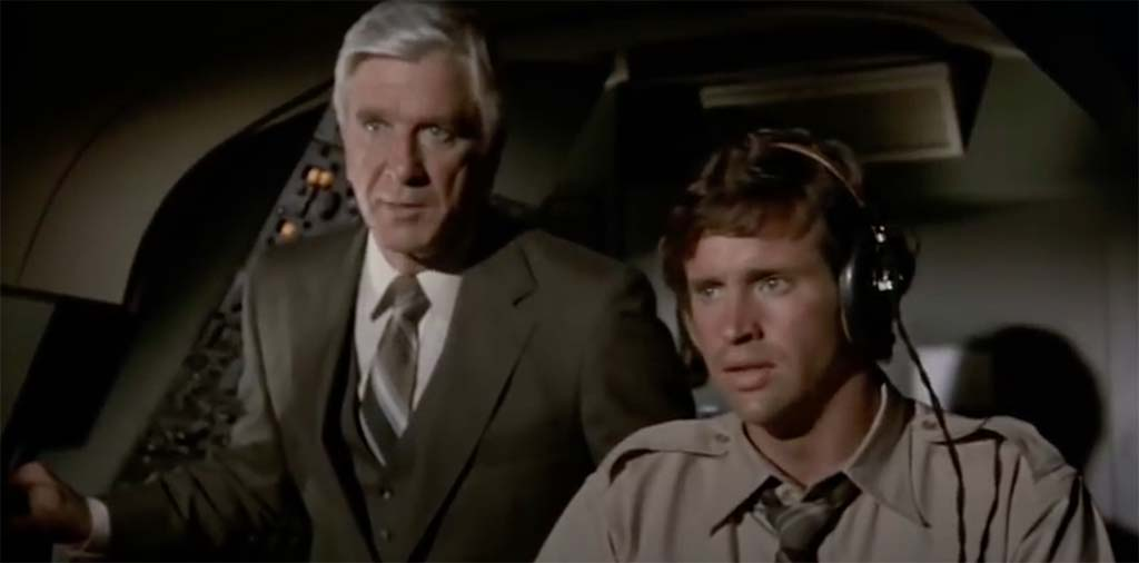 Airplane stop calling me Shirley movie quote