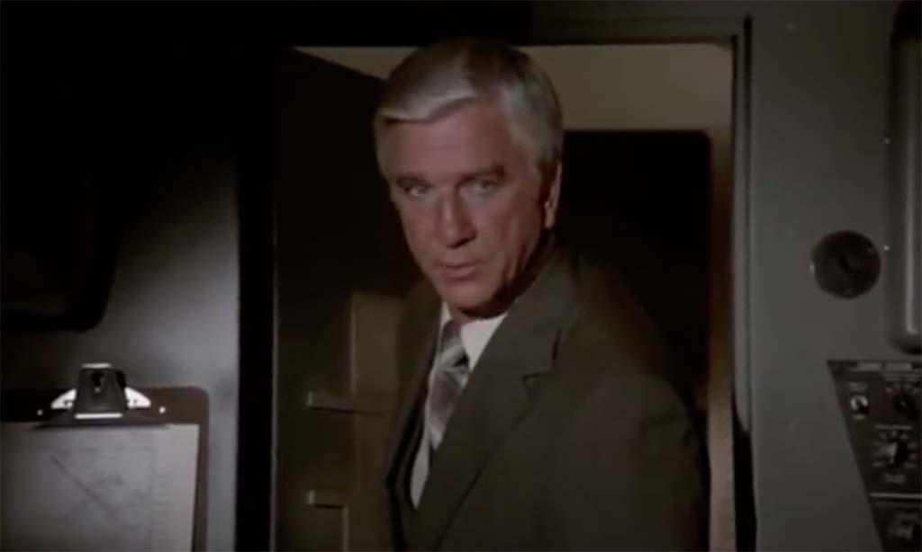 Airplane just want to tell you both good luck movie quote