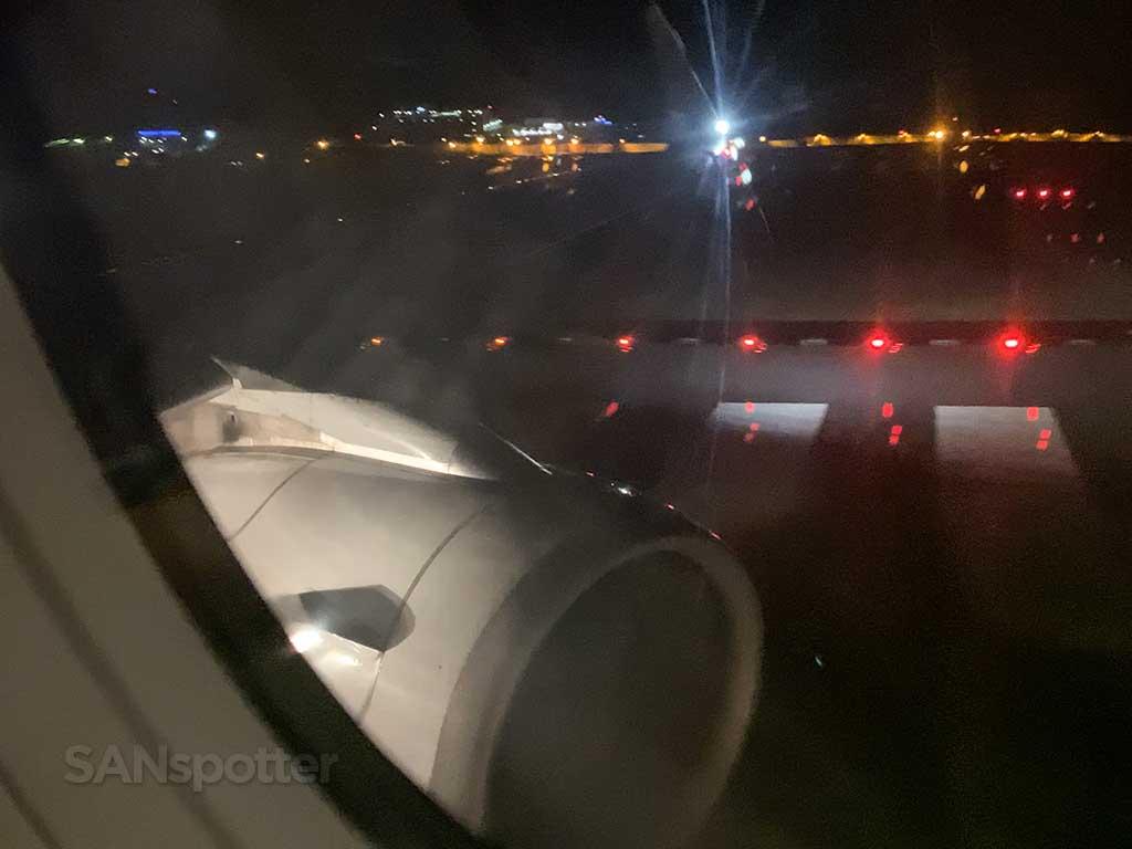 takeoff from NRT