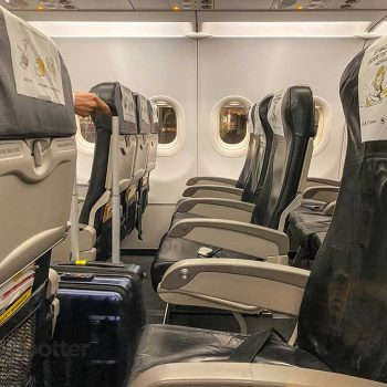 Scoot Airlines A320 seats