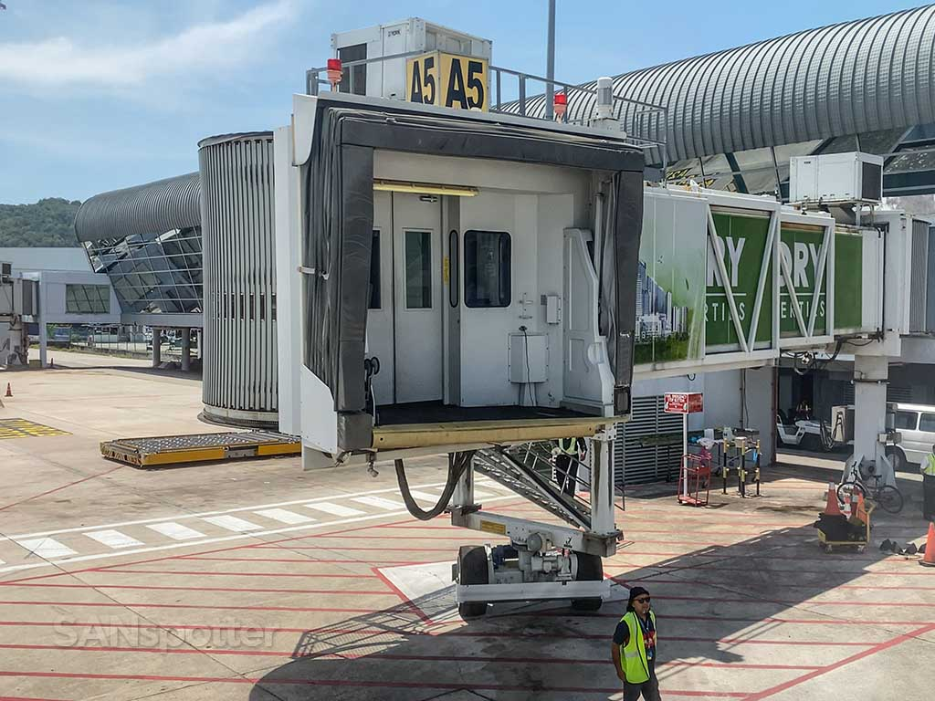 Penang airport jet bridge