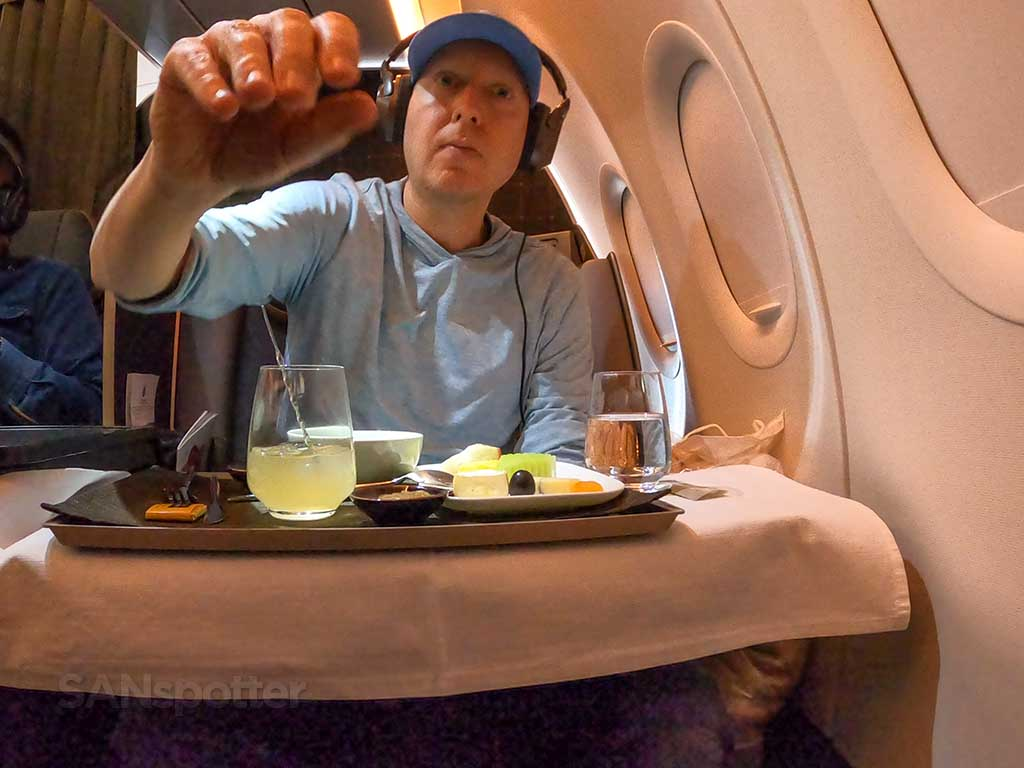 Starlux Airlines drinks