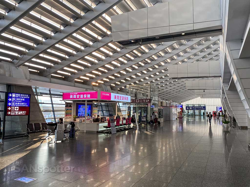 TPE airport departures hall