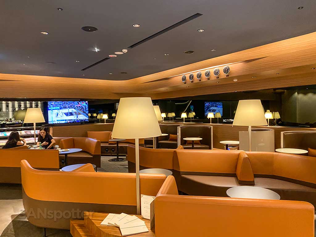 Starlux Airlines Galactic lounge interior TPE