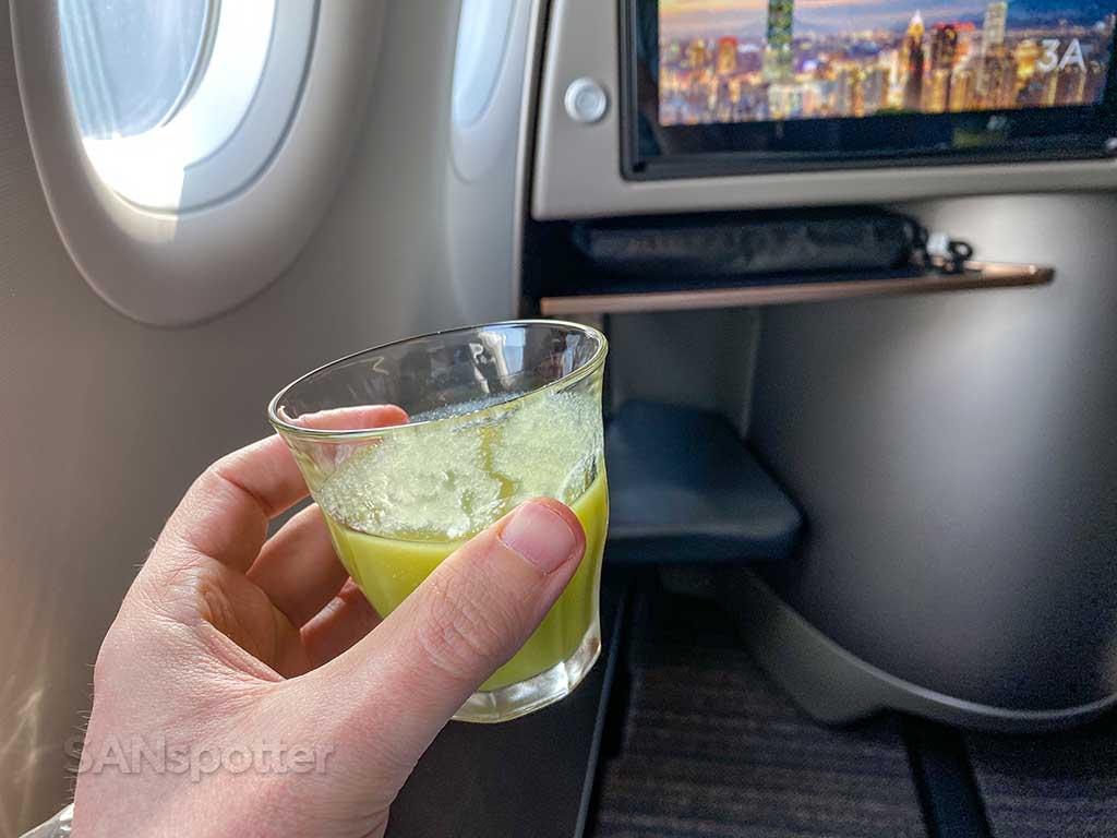 Starlux pre departure drink