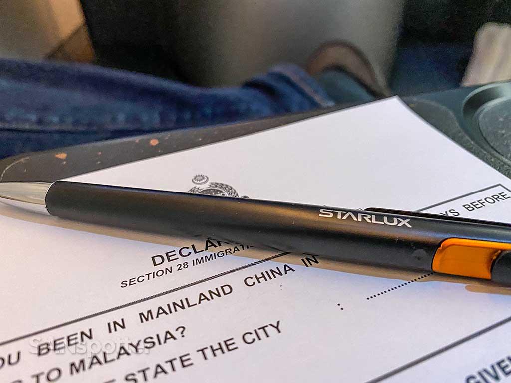 Starlux branded ink pen