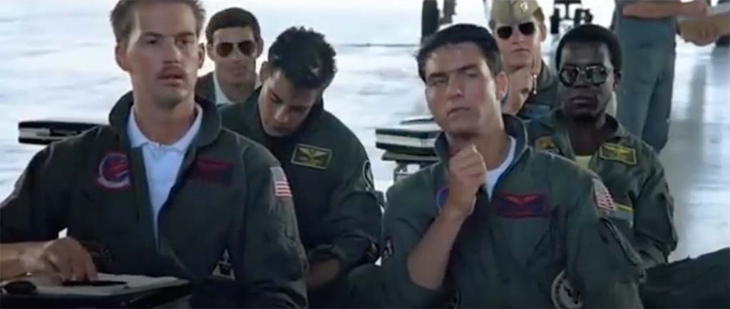 top gun keeping up foreign relations quote
