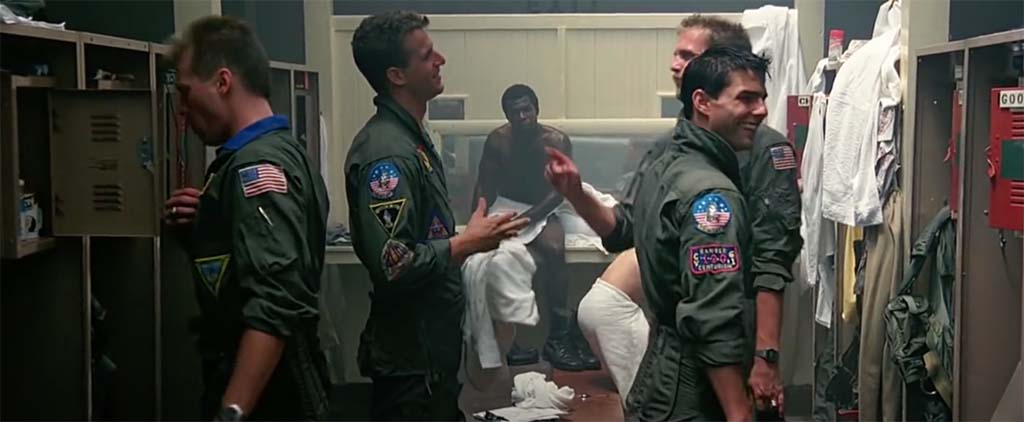 top gun there's no points for second place quote