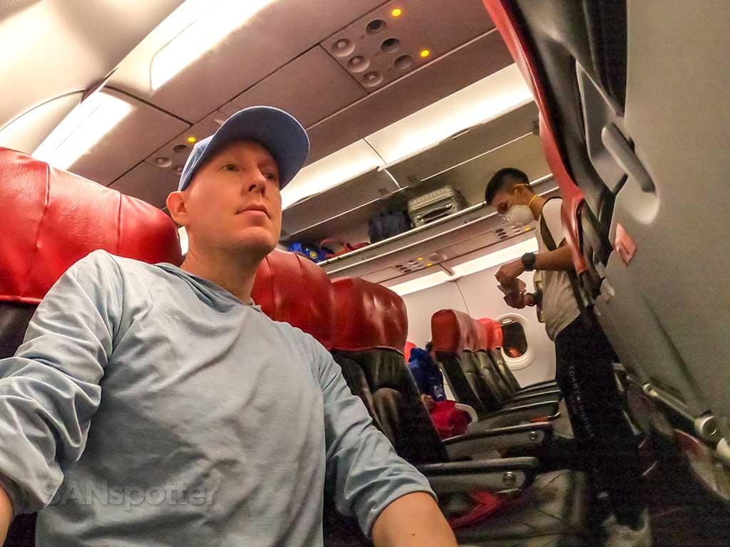 SANspotter selfie AirAsia